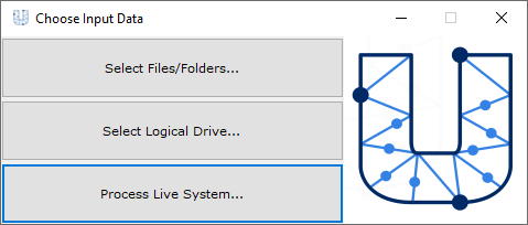 USB Detective Choose Input